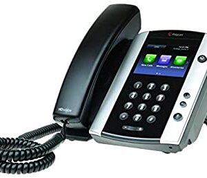 Polycom VVX 501 12-line Business Media Phone with HD Voice, PoE – with Power Supply 2200-48500-001