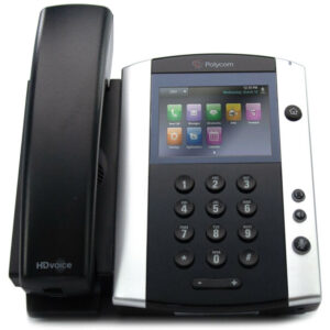 Polycom VVX 601 16-line Business Media Phone with built-in Bluetooth and HD Voice. PoE – with Power Supply 2200-48600-001