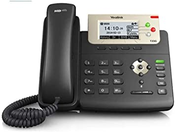 Yealink Enterprise HD IP Phone SIP-T23G (with PoE) – Includes Power Supply SIP-T23G_AC