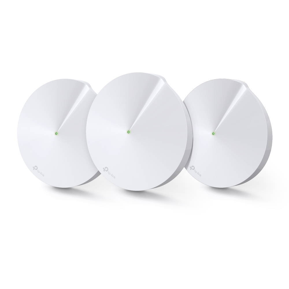 TP-LINK Deco M5(3-pack) White Internal Dual-band (2.4 GHz / 5 GHz) Wi-Fi 5 (802.11ac) 2