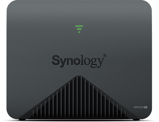 Synology MR2200AC wireless router Gigabit Ethernet Dual-band (2.4 GHz / 5 GHz) 3G 4G Black