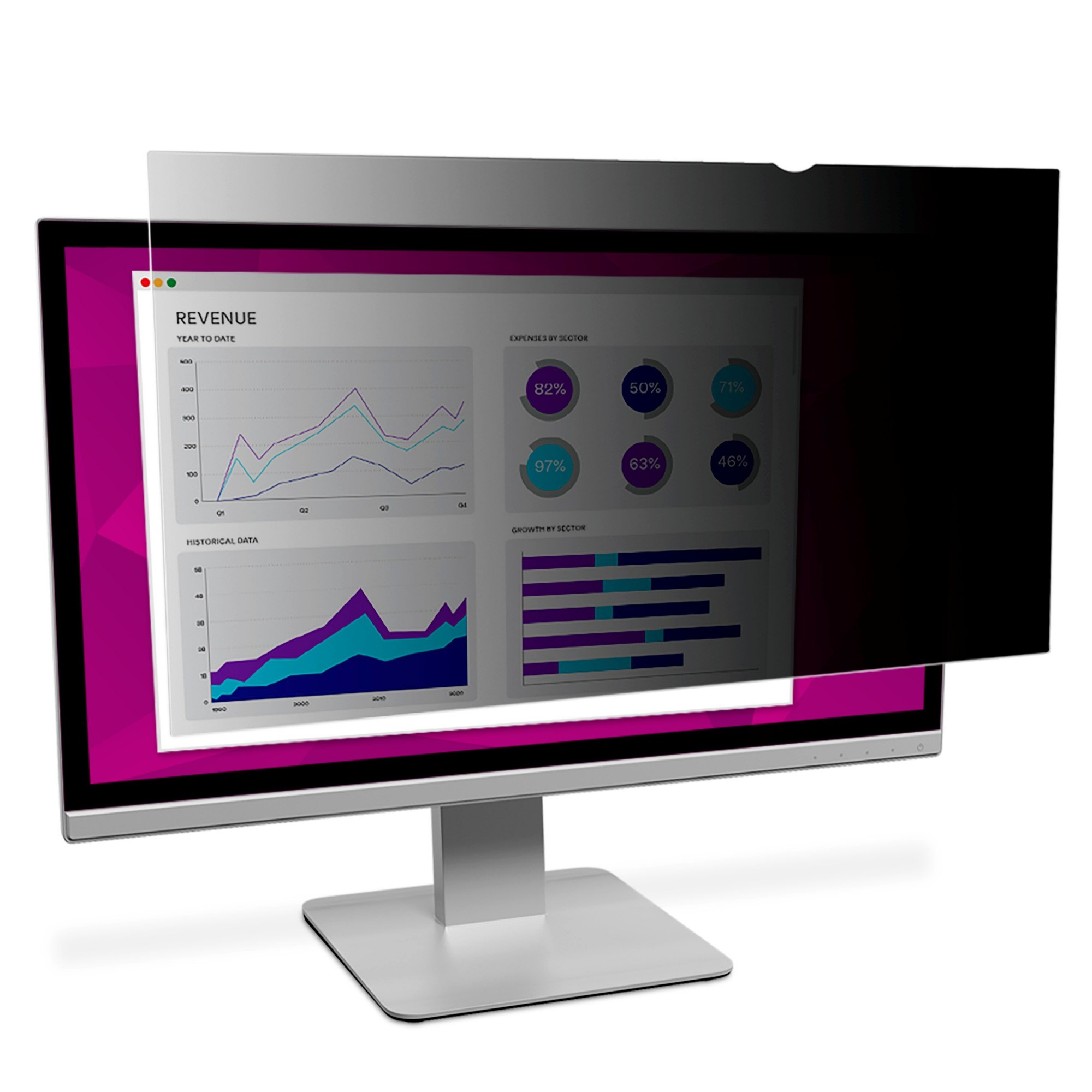 3M High Clarity Privacy Filter for 27″ Widescreen Monitor